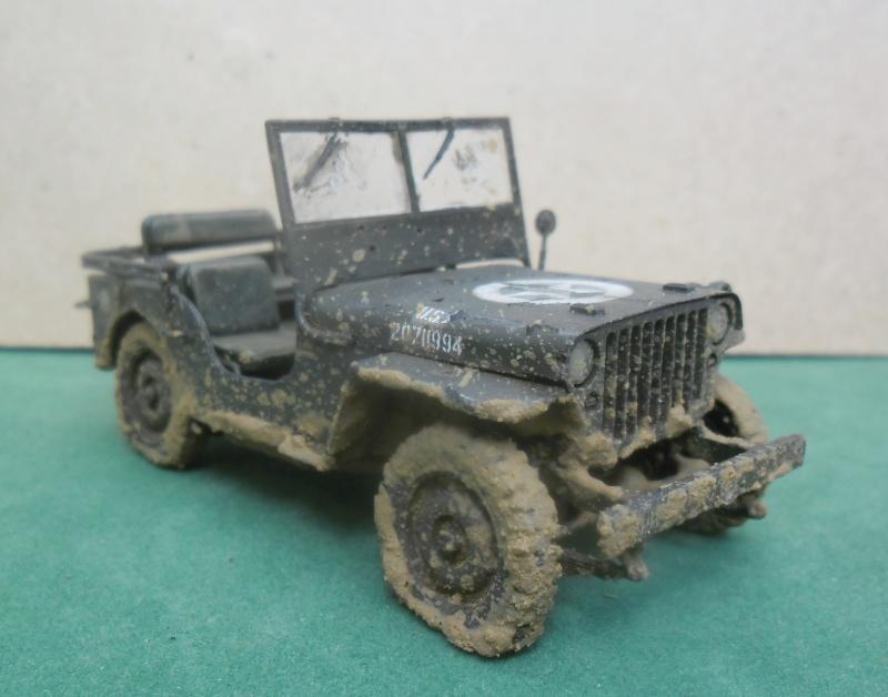 Epave Jeep Willys Italeri 1/35 Finie_19