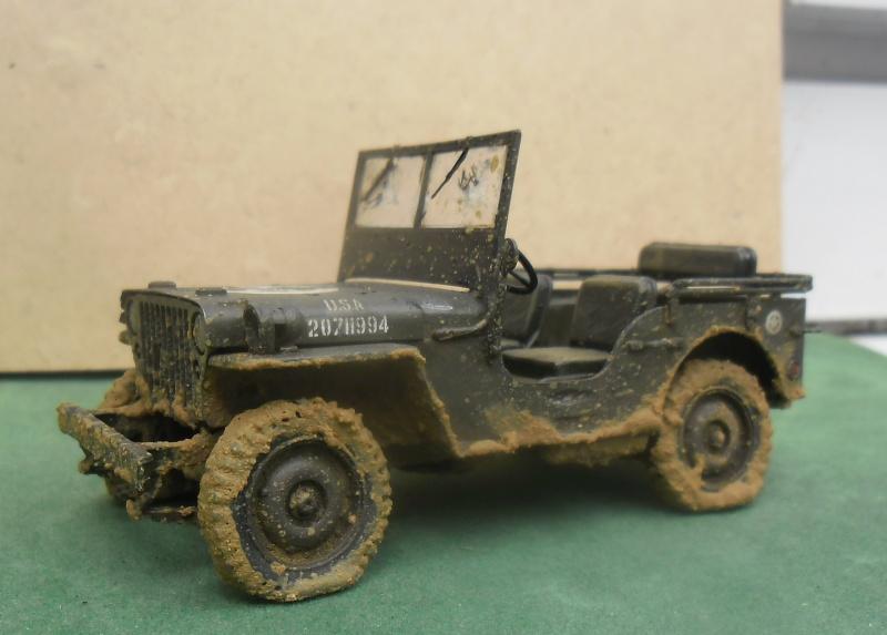 Epave Jeep Willys Italeri 1/35 Finie_21