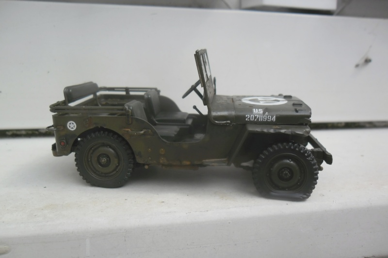 Willys Jeep Italeri épave 1/35 (Finie) - Page 2 Patine17