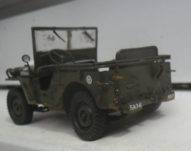Willys Jeep Italeri épave 1/35 (Finie) - Page 3 Patine20