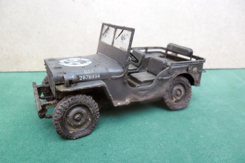 Epave Jeep Willys Italeri 1/35 Sam_1943