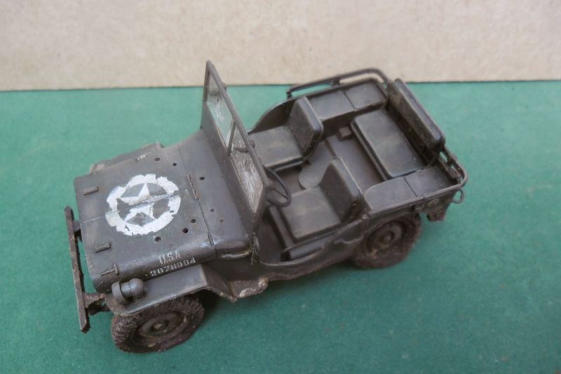 Epave Jeep Willys Italeri 1/35 Sam_1944