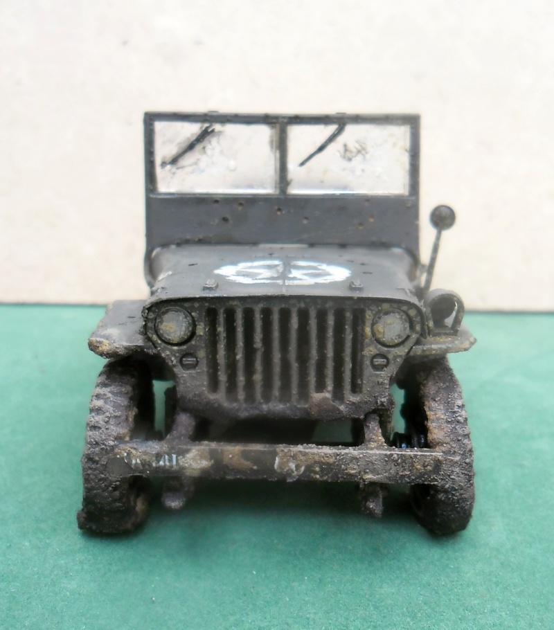 Epave Jeep Willys Italeri 1/35 Sam_1945