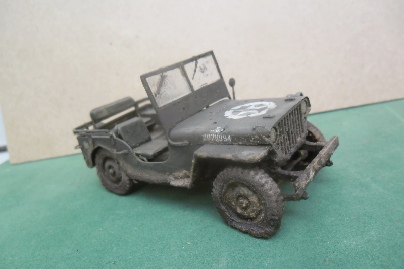 Epave Jeep Willys Italeri 1/35 Sam_1946
