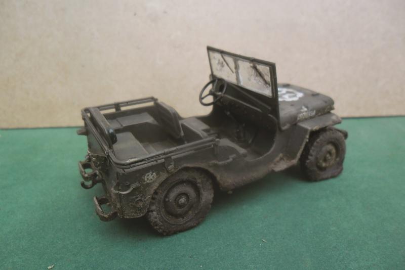 Epave Jeep Willys Italeri 1/35 Sam_1947