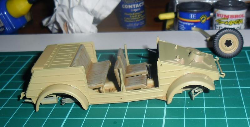 Kübelwagen Type 82 Tamiya  Leichte Div. Italy 43 1/35 Fini Sans_t25