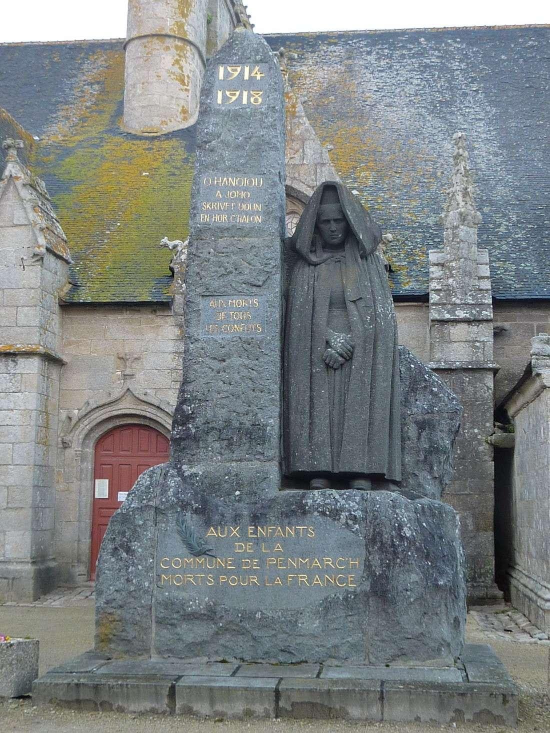 [Histoires et Histoire] Monuments aux morts originaux Français Tome 1 - Page 12 Penmar10