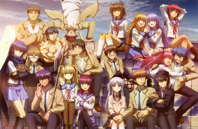AngelBeats!  Wallpa11