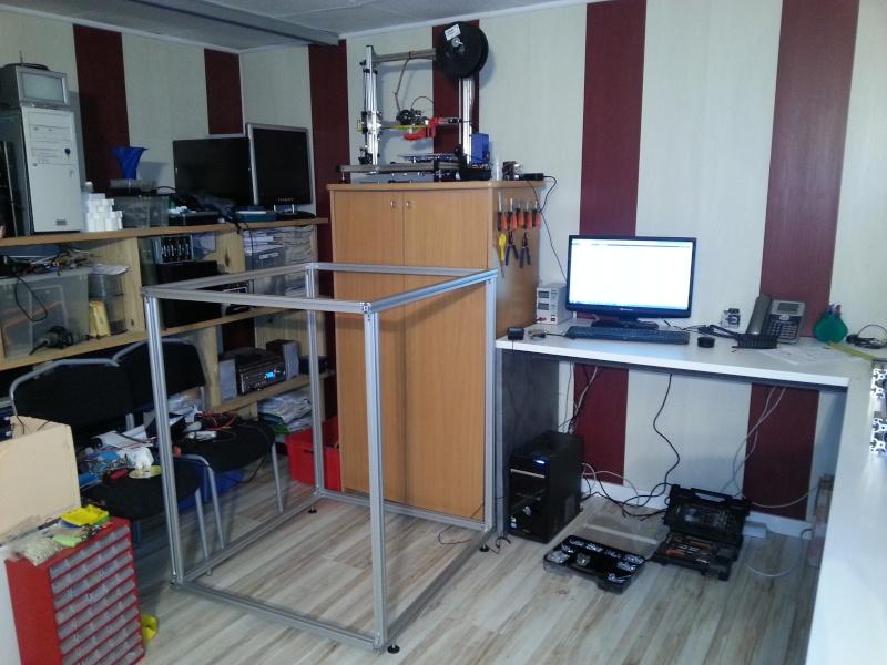création d'une imprimante 3d - Zone d'impression : 40*40*80cm 20140110