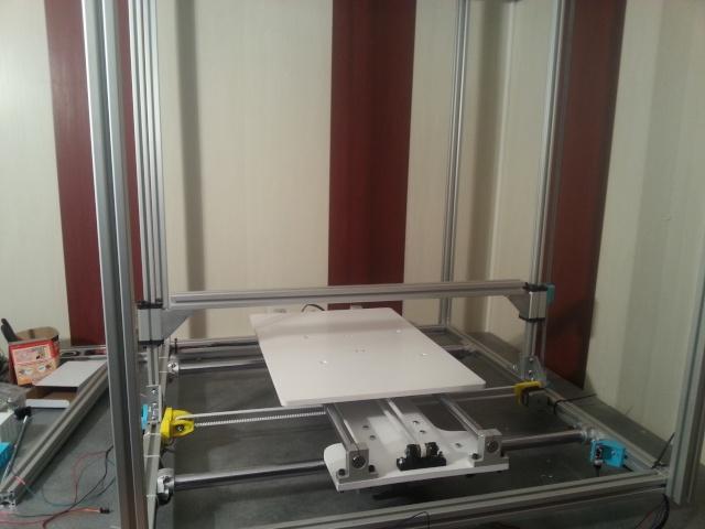 création d'une imprimante 3d - Zone d'impression : 40*40*80cm - Page 2 20140413