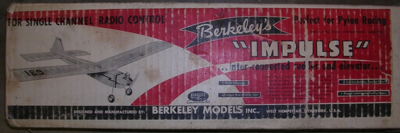 1959 Berkeley Impulse Single Channel Pylon Racer Build Berkel10