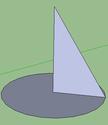 Logiciel Sketchup  Cone_210