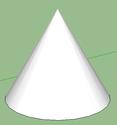 Logiciel Sketchup  Cone_310