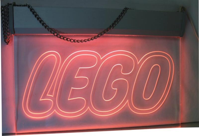 LEGO Pink LED Neon style Advertising Light Lego_110