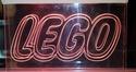 LEGO Pink LED Neon style Advertising Light Lego10