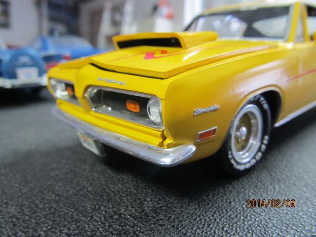 Plymouth Barracuda 1969 07810