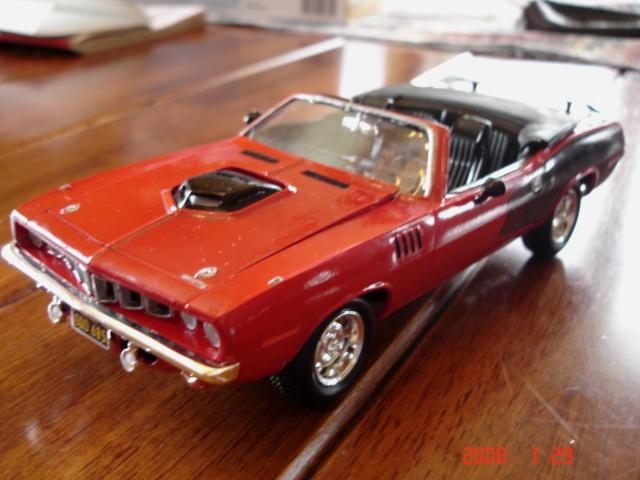 Plymouth 'Cuda 1971 convertible Plymou10