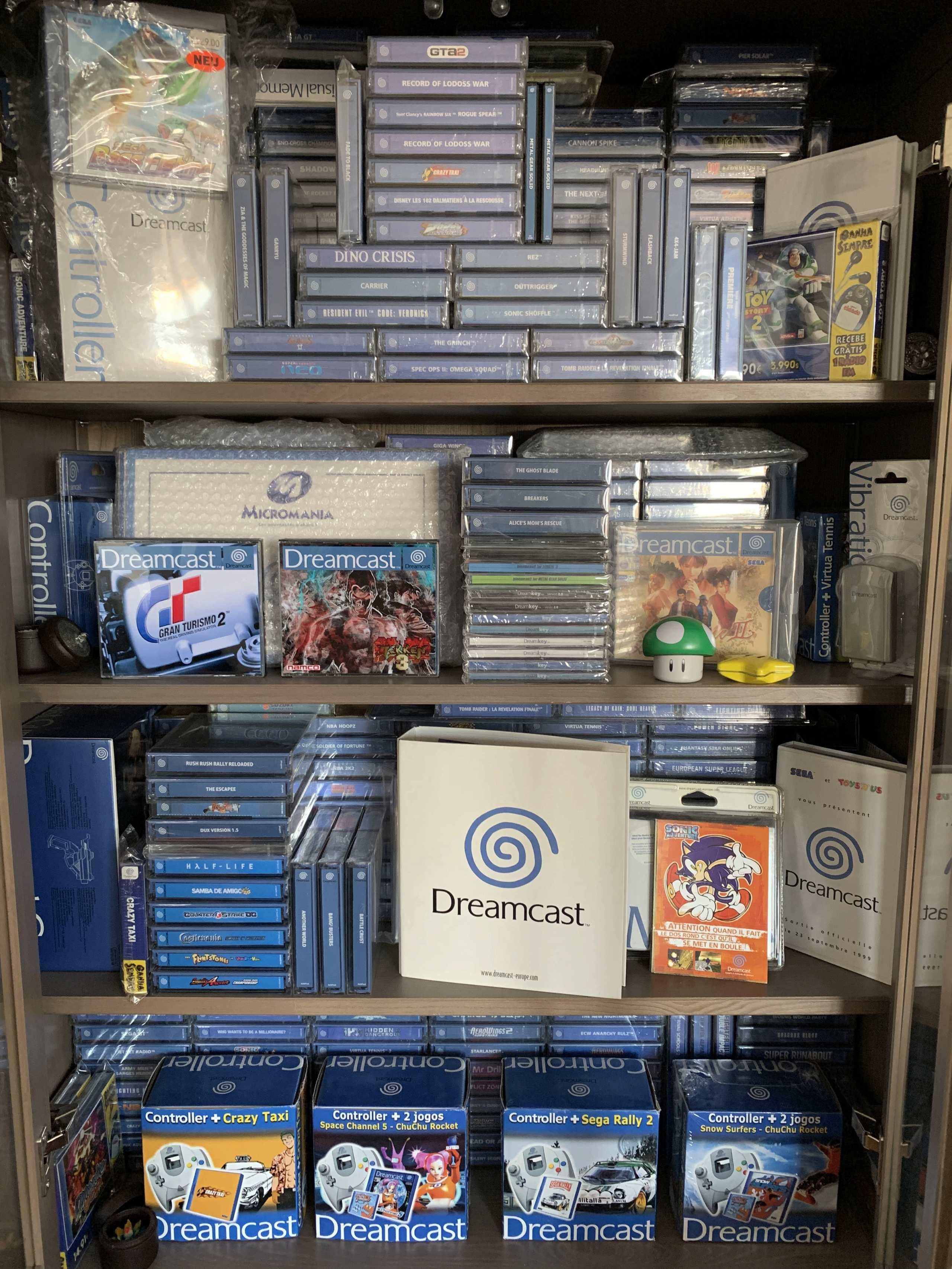 [VENDU] Fullset Jeux Dreamcast, Accessoires, Promo, Rigides... - 350 pièces - NEUF SOUS BLISTER 000_ph10