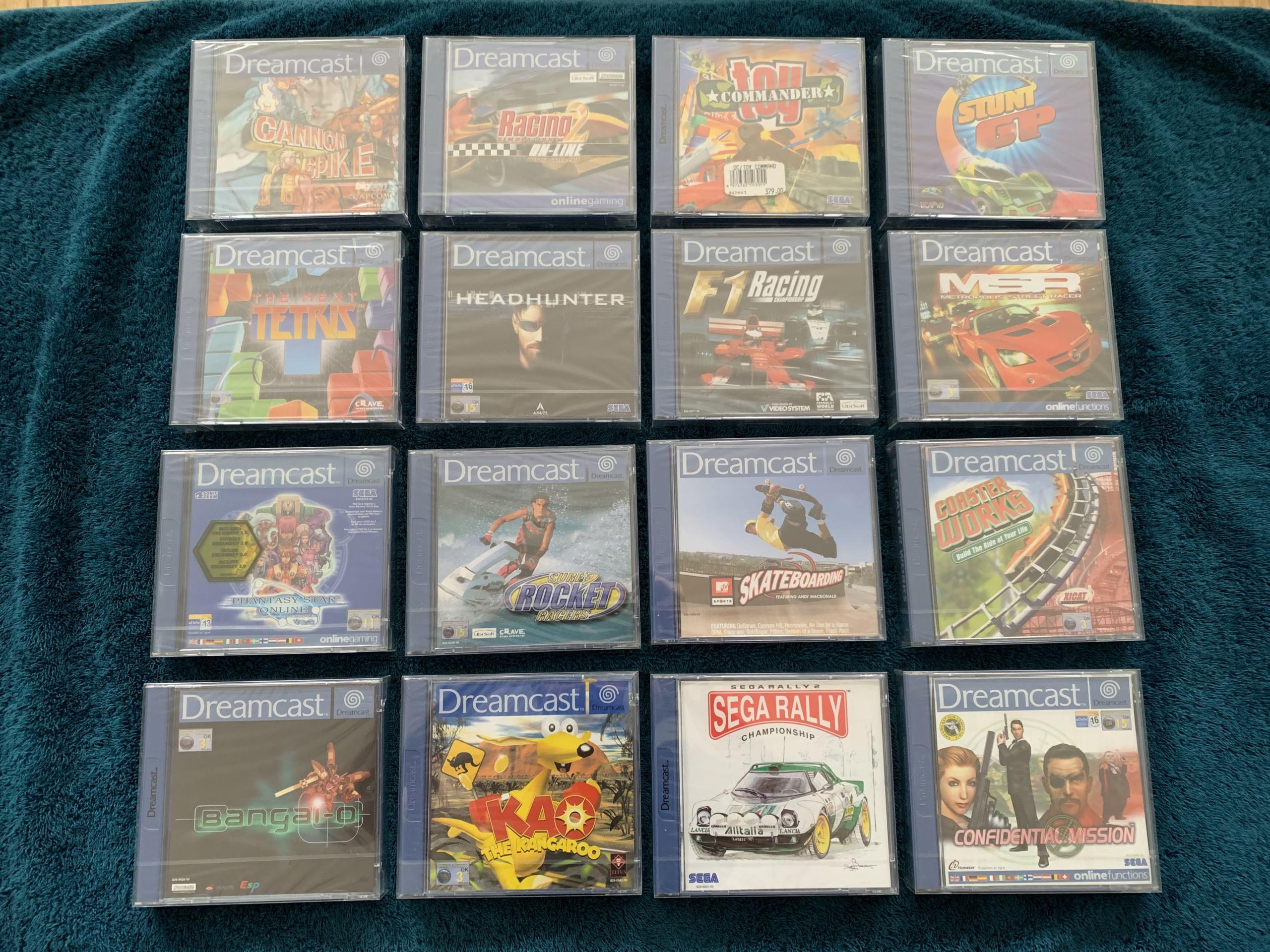 [VENDU] Fullset Jeux Dreamcast, Accessoires, Promo, Rigides... - 350 pièces - NEUF SOUS BLISTER 002_fu10
