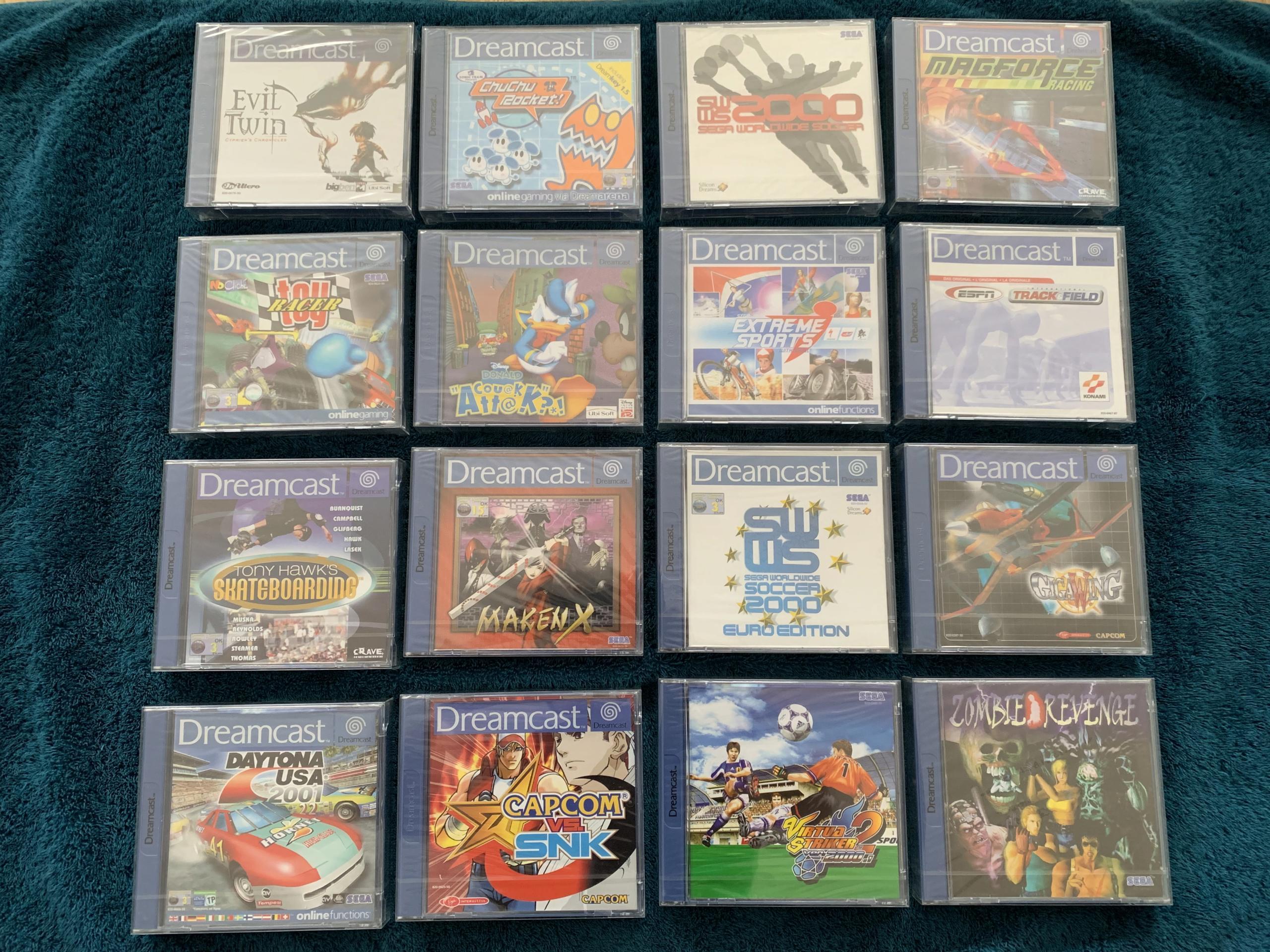 [VENDU] Fullset Jeux Dreamcast, Accessoires, Promo, Rigides... - 350 pièces - NEUF SOUS BLISTER 003_fu10