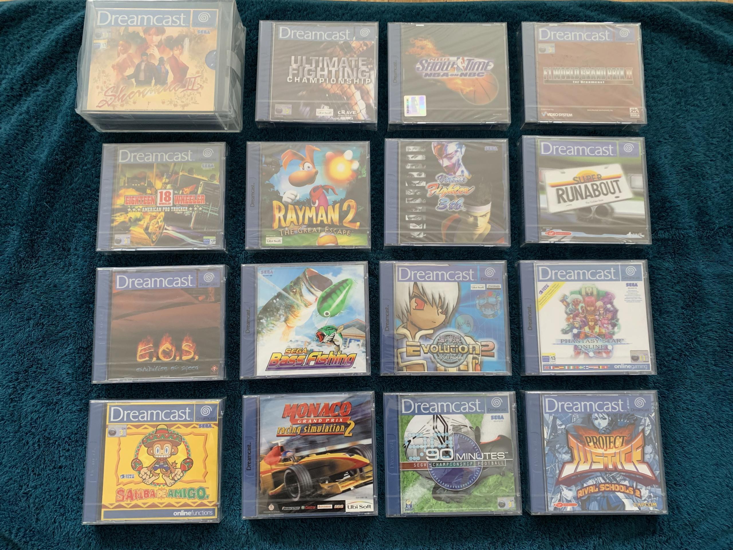 [VENDU] Fullset Jeux Dreamcast, Accessoires, Promo, Rigides... - 350 pièces - NEUF SOUS BLISTER 004_fu10