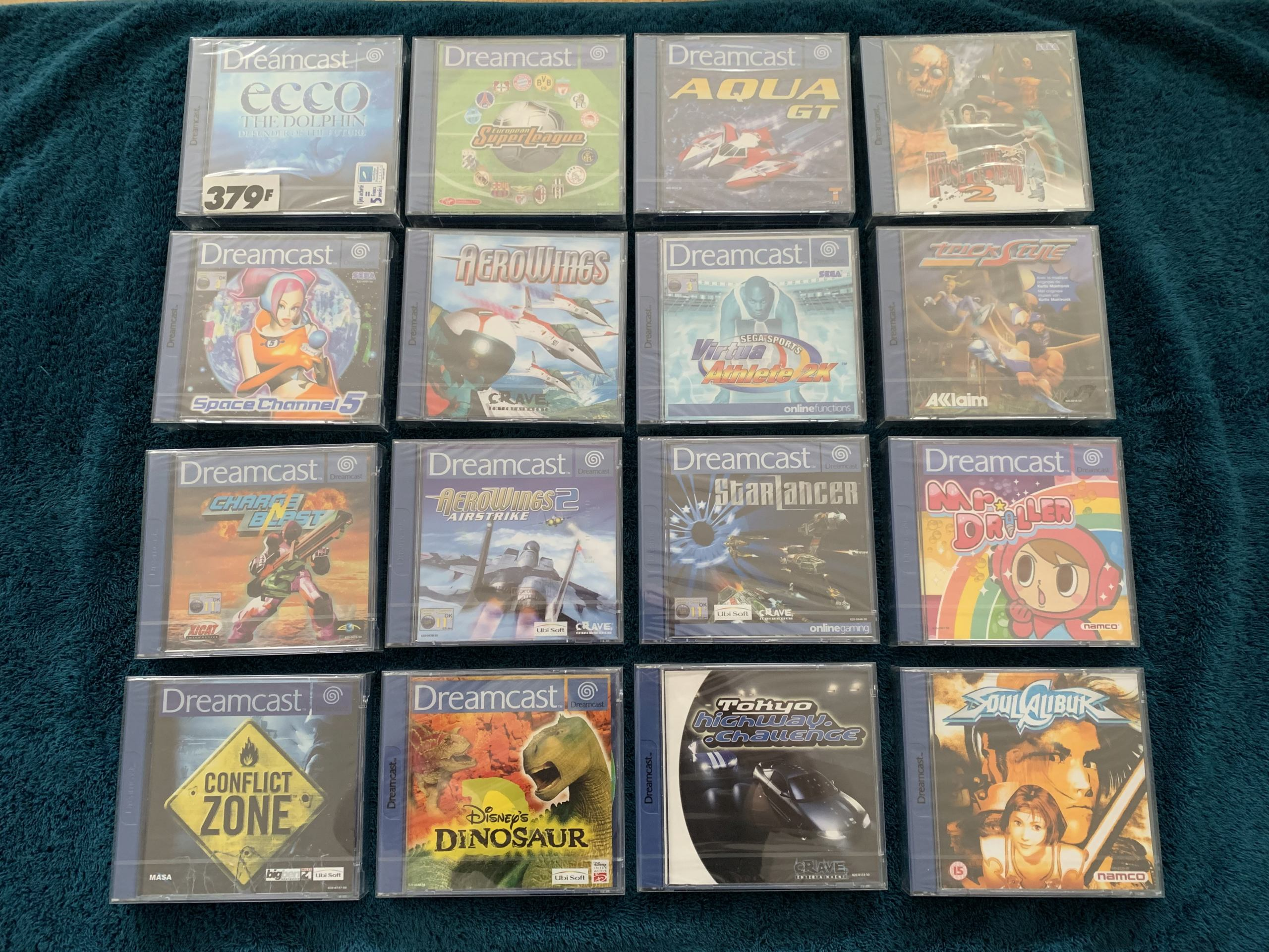 [VENDU] Fullset Jeux Dreamcast, Accessoires, Promo, Rigides... - 350 pièces - NEUF SOUS BLISTER 006_fu10