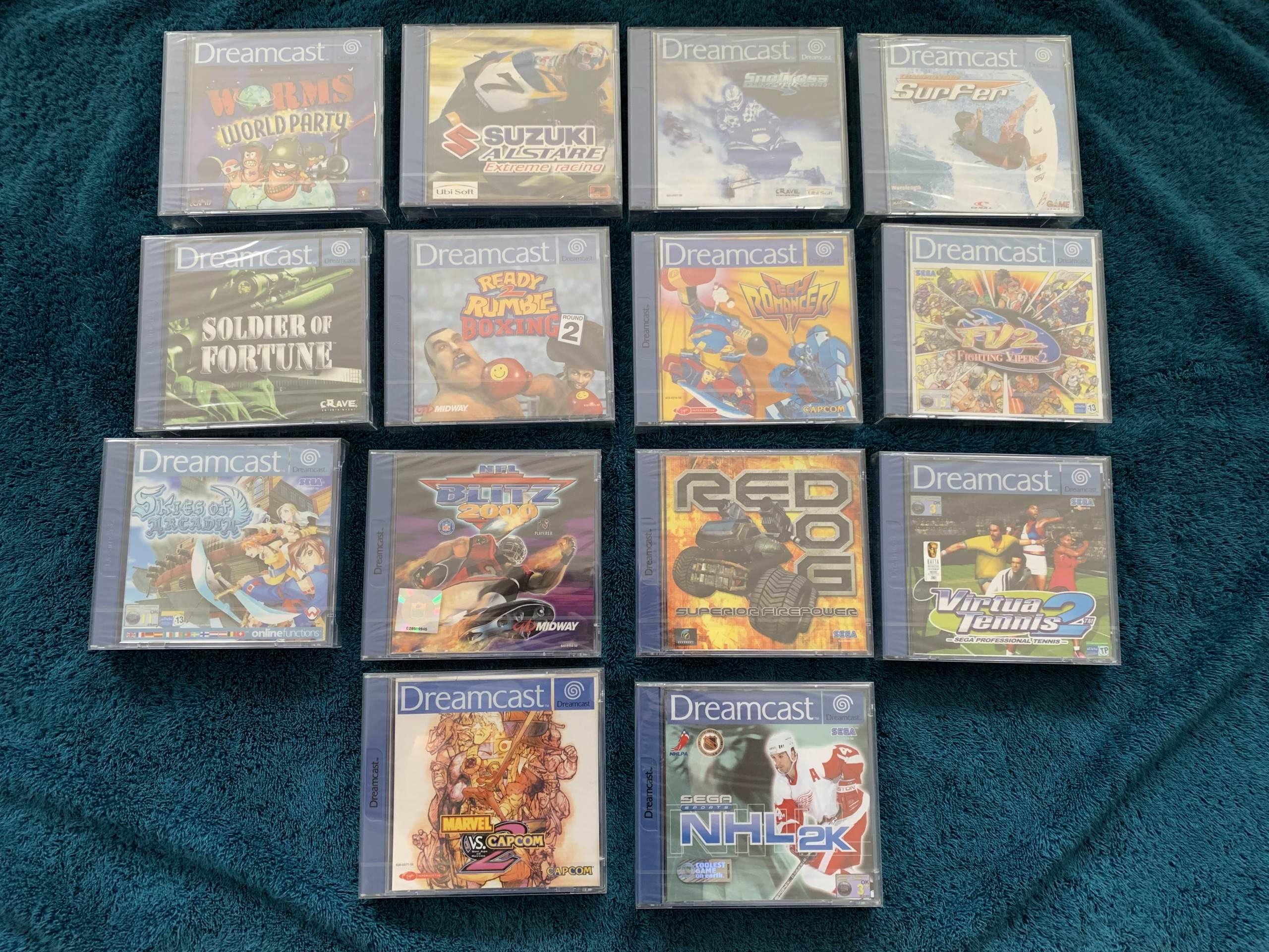 [VENDU] Fullset Jeux Dreamcast, Accessoires, Promo, Rigides... - 350 pièces - NEUF SOUS BLISTER 007_fu10