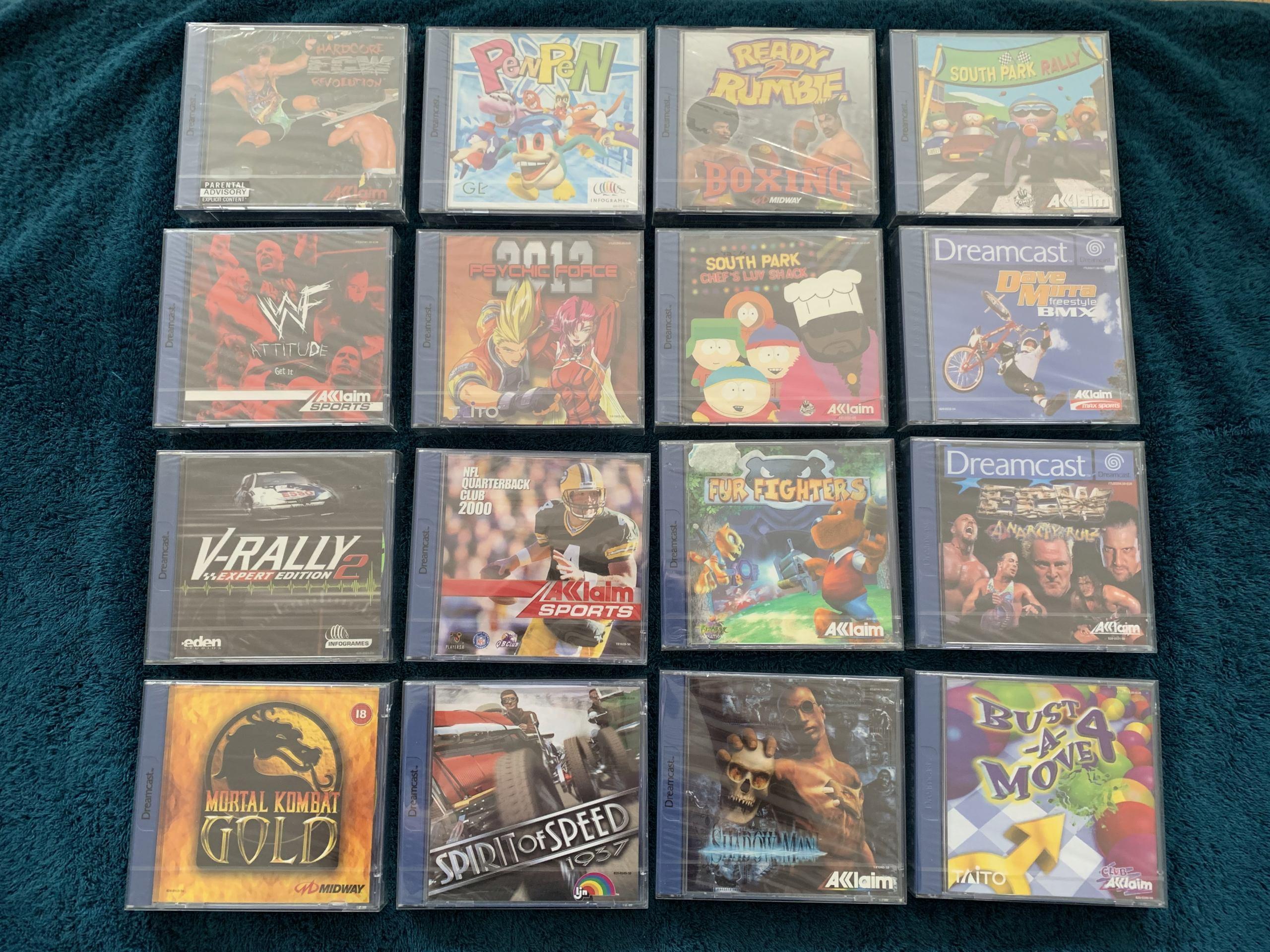 [VENDU] Fullset Jeux Dreamcast, Accessoires, Promo, Rigides... - 350 pièces - NEUF SOUS BLISTER 011_fu10