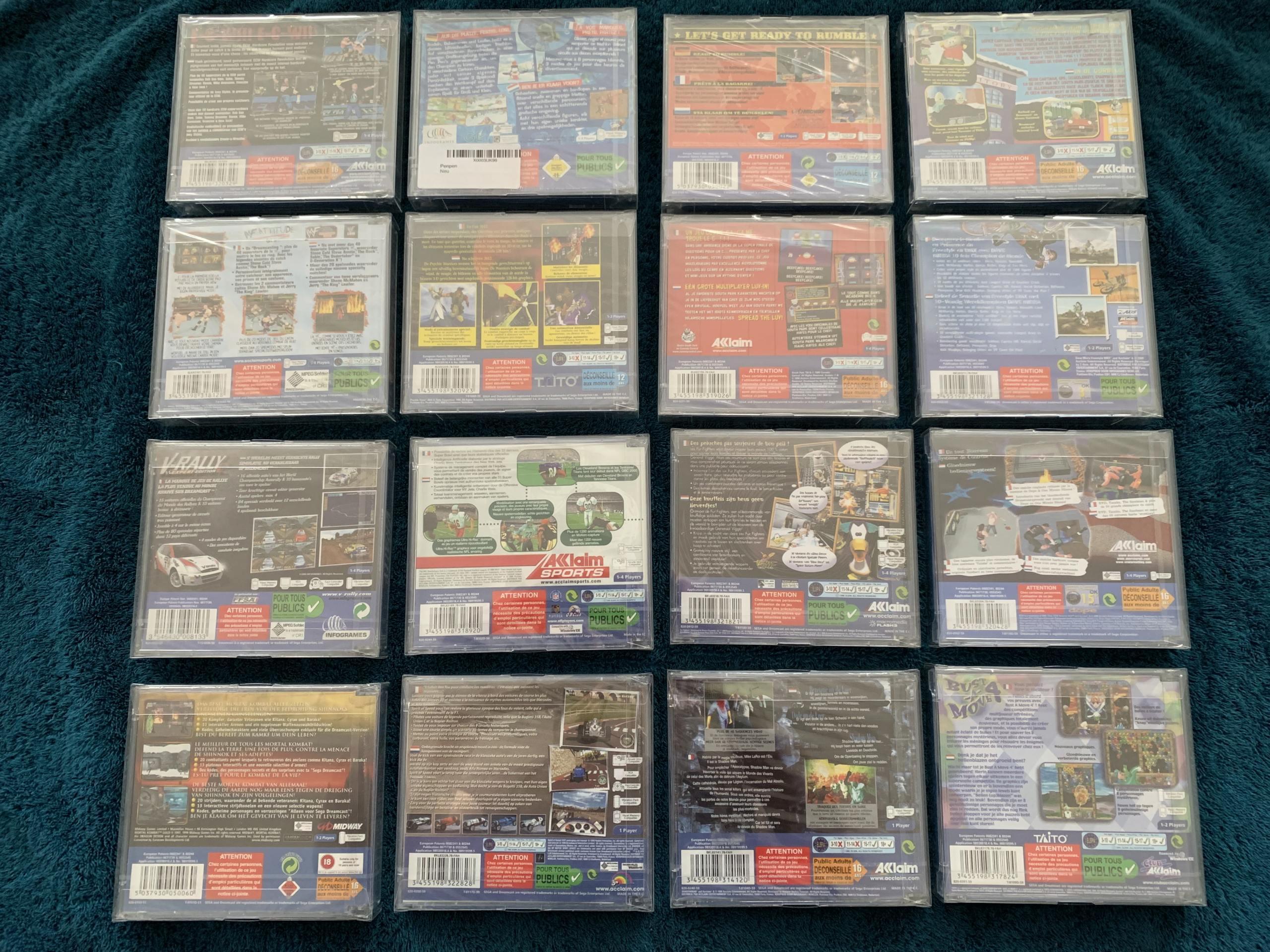 [VENDU] Fullset Jeux Dreamcast, Accessoires, Promo, Rigides... - 350 pièces - NEUF SOUS BLISTER 012_fu10