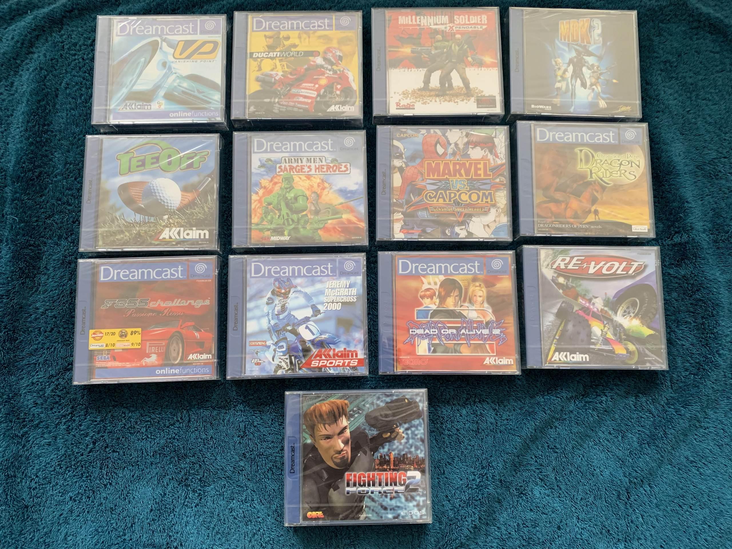 [VENDU] Fullset Jeux Dreamcast, Accessoires, Promo, Rigides... - 350 pièces - NEUF SOUS BLISTER 013_fu10