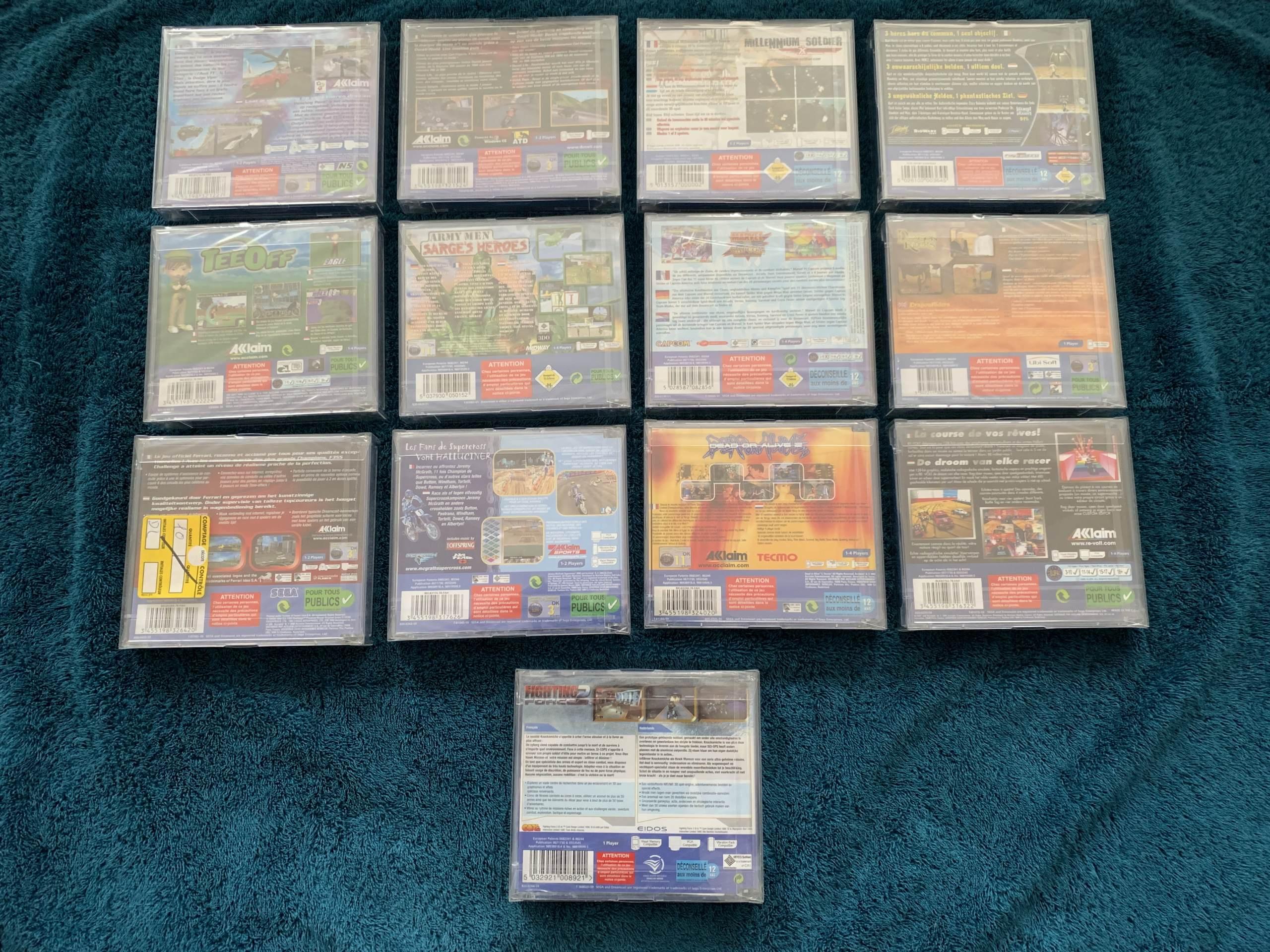 [VENDU] Fullset Jeux Dreamcast, Accessoires, Promo, Rigides... - 350 pièces - NEUF SOUS BLISTER 014_fu10