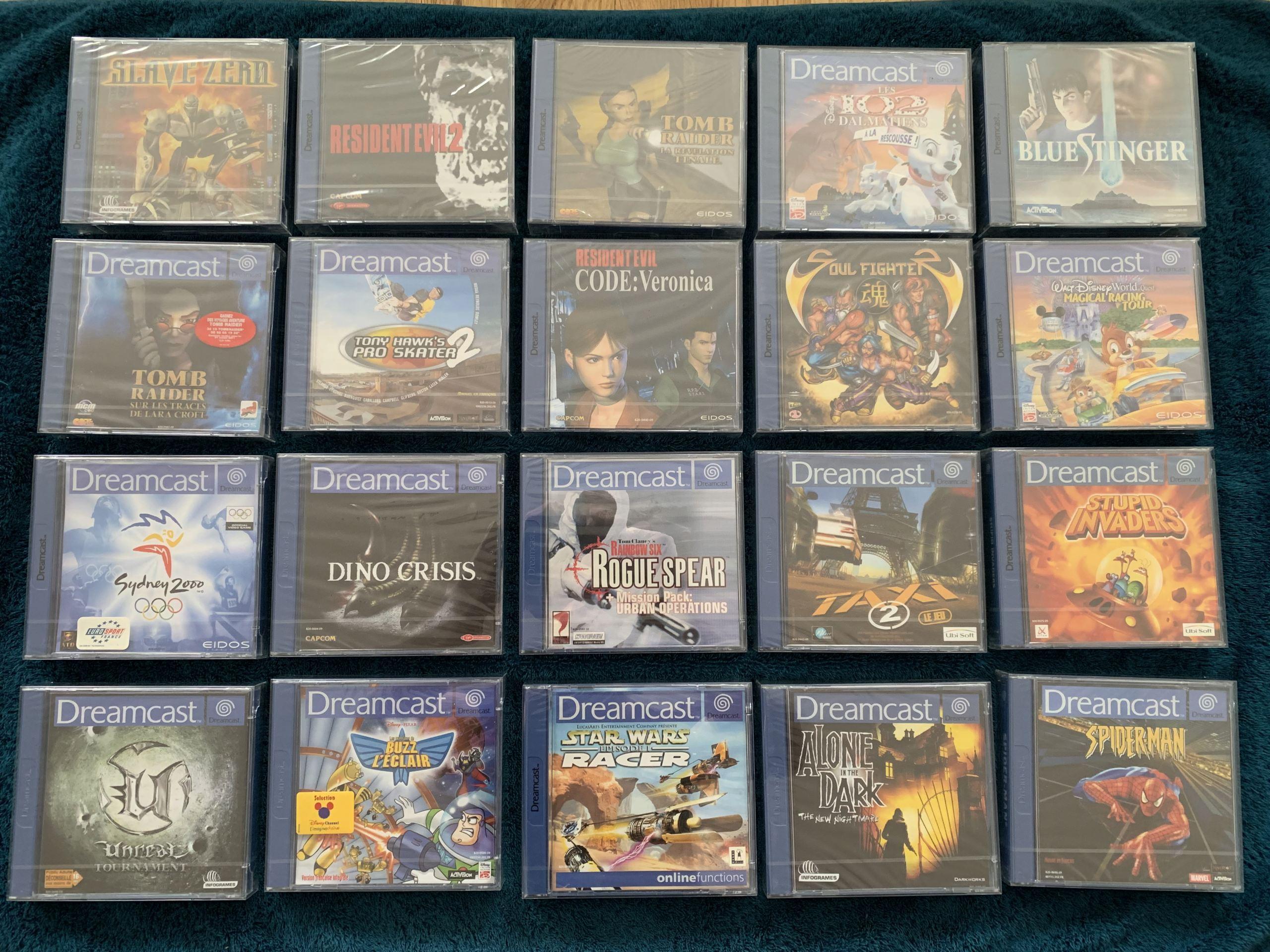 [VENDU] Fullset Jeux Dreamcast, Accessoires, Promo, Rigides... - 350 pièces - NEUF SOUS BLISTER 017_fu10