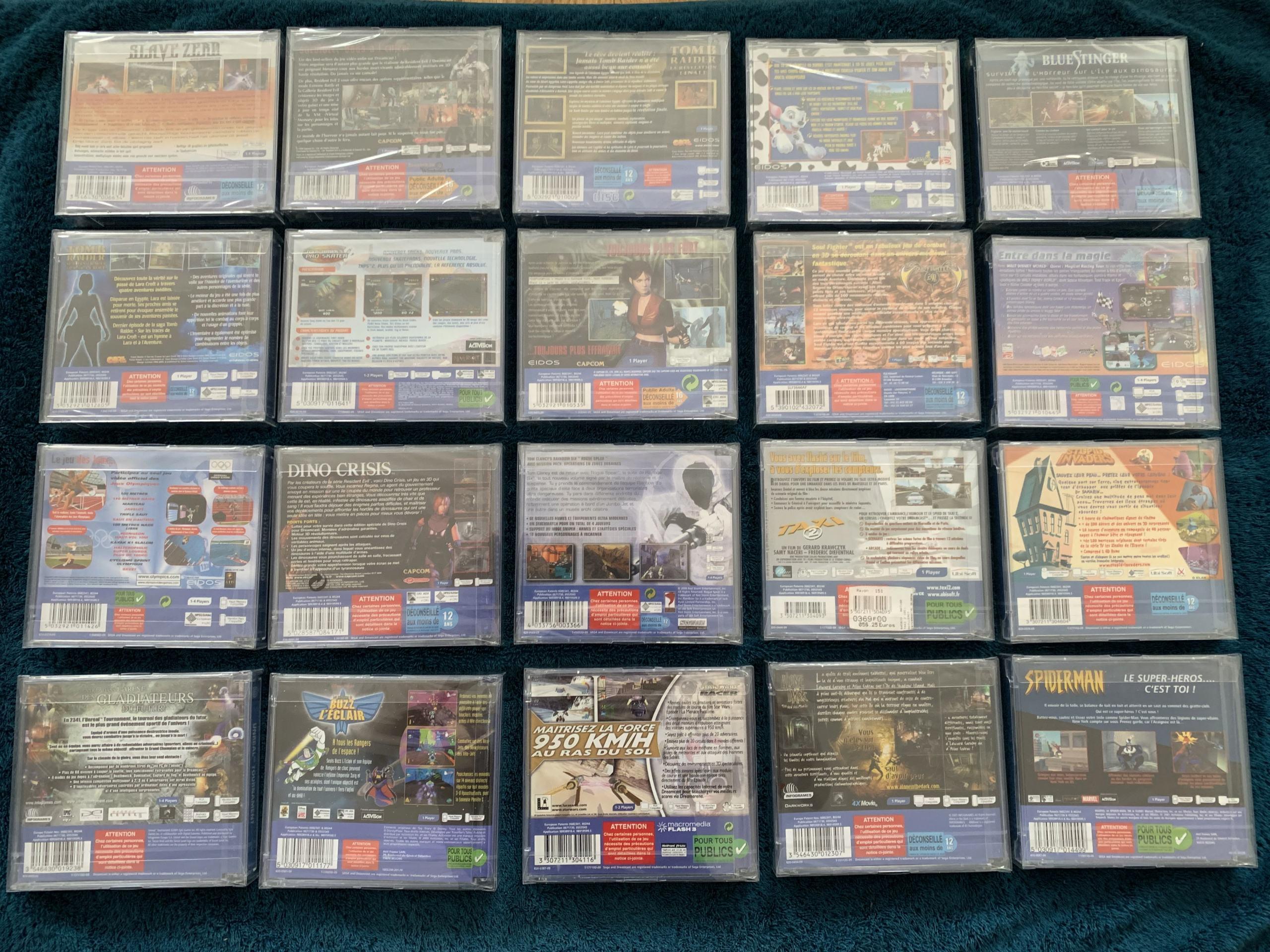 [VENDU] Fullset Jeux Dreamcast, Accessoires, Promo, Rigides... - 350 pièces - NEUF SOUS BLISTER 018_fu10