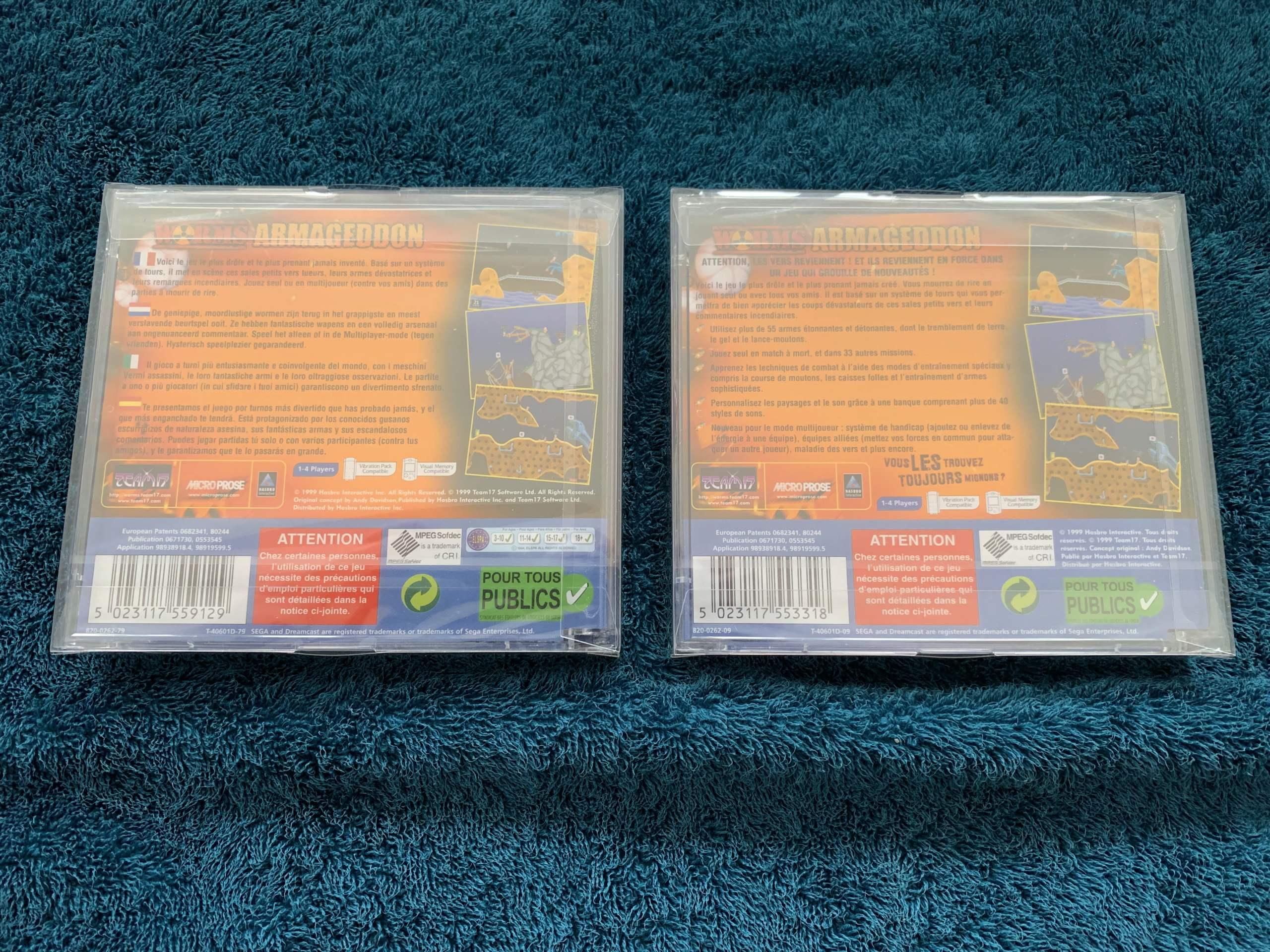 [VENDU] Fullset Jeux Dreamcast, Accessoires, Promo, Rigides... - 350 pièces - NEUF SOUS BLISTER 020_wo10