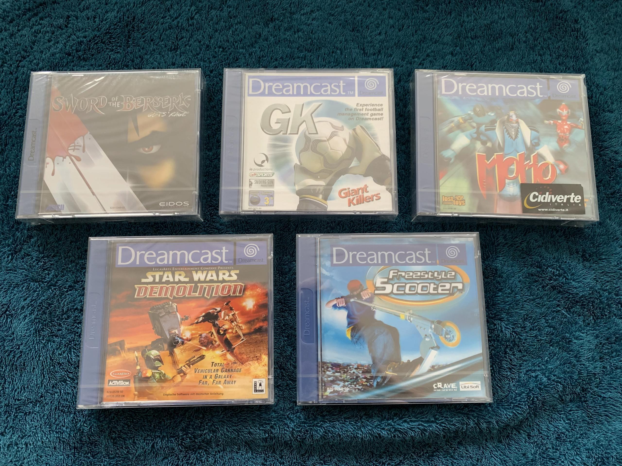 [VENDU] Fullset Jeux Dreamcast, Accessoires, Promo, Rigides... - 350 pièces - NEUF SOUS BLISTER 021_ex10