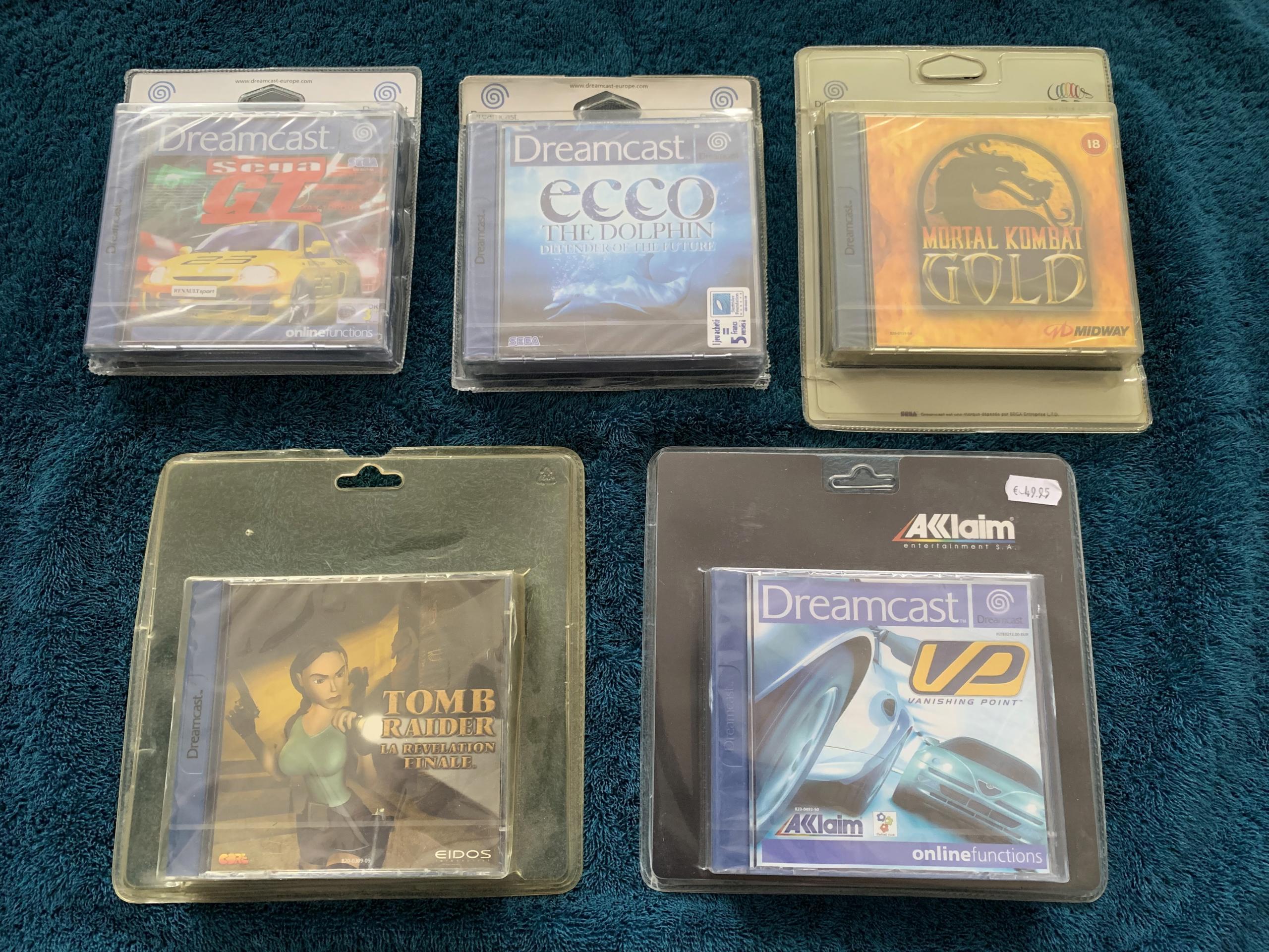 [VENDU] Fullset Jeux Dreamcast, Accessoires, Promo, Rigides... - 350 pièces - NEUF SOUS BLISTER 024_bl10