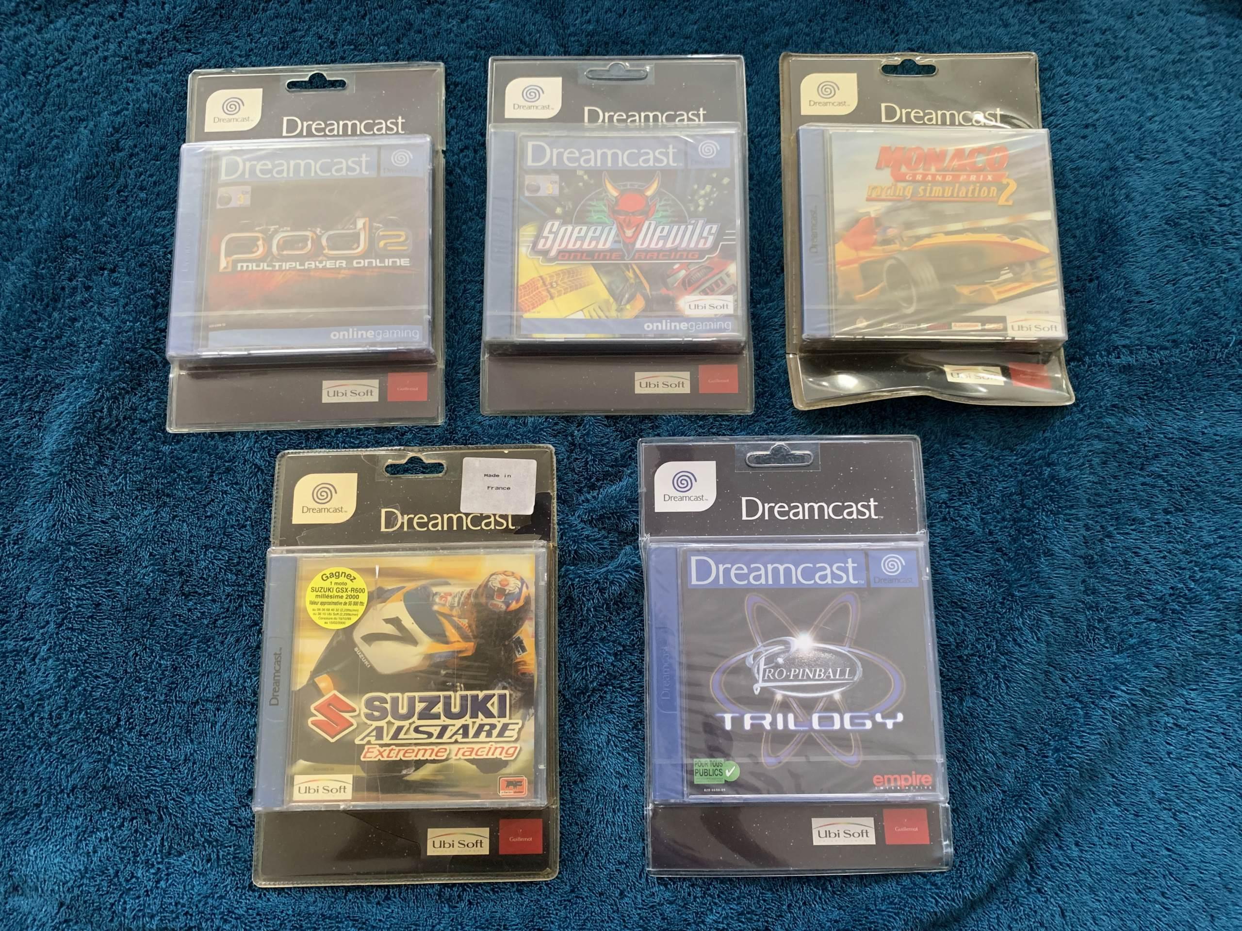 [VENDU] Fullset Jeux Dreamcast, Accessoires, Promo, Rigides... - 350 pièces - NEUF SOUS BLISTER 025_bl10