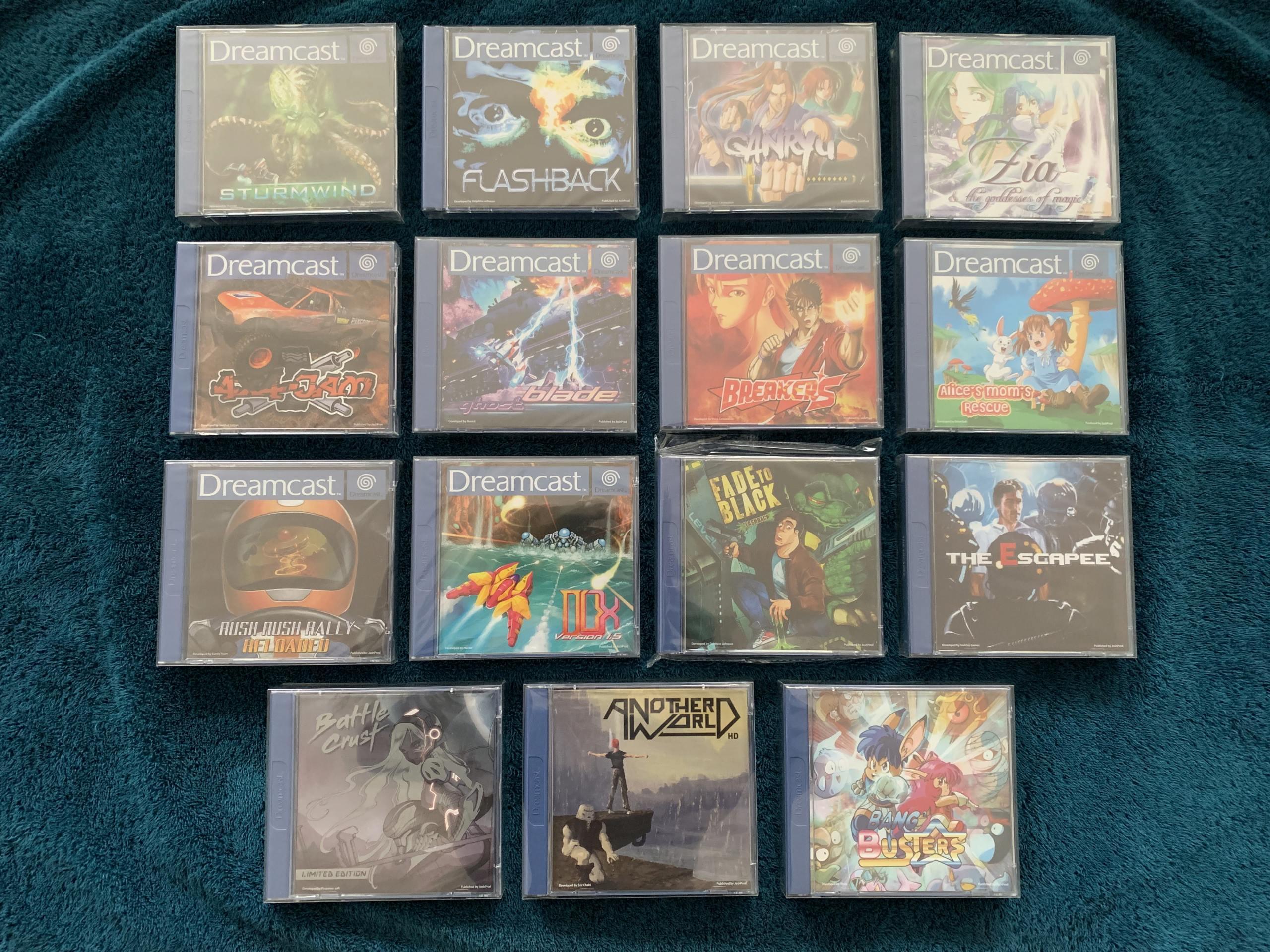 [VENDU] Fullset Jeux Dreamcast, Accessoires, Promo, Rigides... - 350 pièces - NEUF SOUS BLISTER 029_fu10