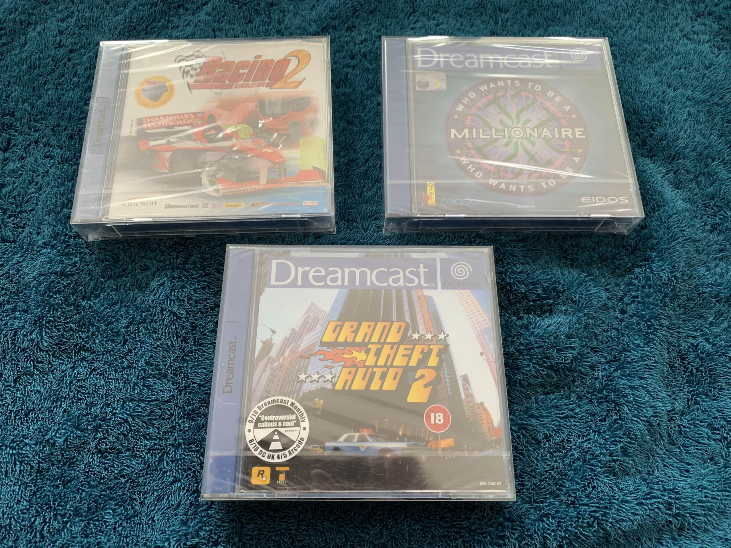 [VENDU] Fullset Jeux Dreamcast, Accessoires, Promo, Rigides... - 350 pièces - NEUF SOUS BLISTER 030_va10