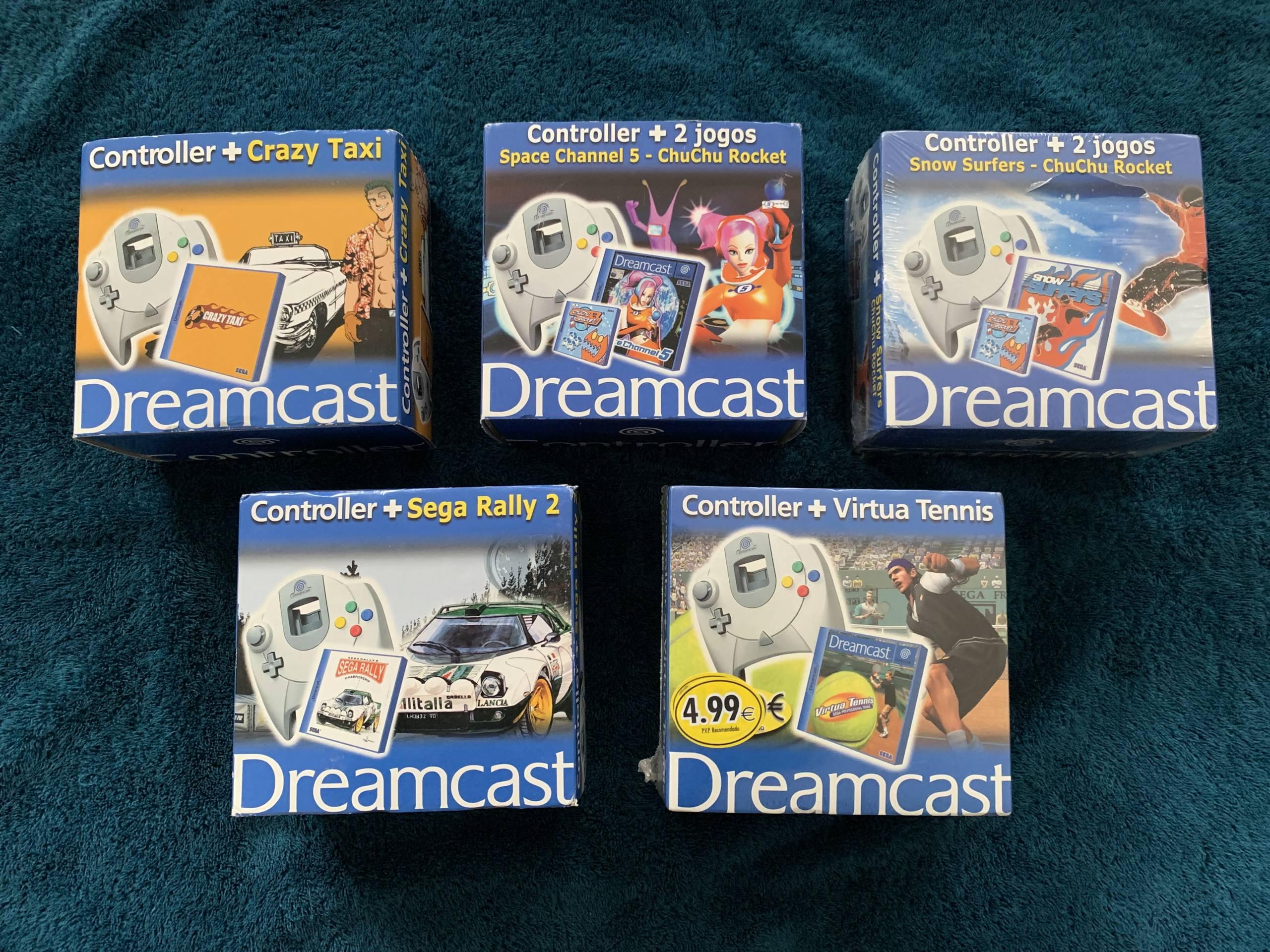 [VENDU] Fullset Jeux Dreamcast, Accessoires, Promo, Rigides... - 350 pièces - NEUF SOUS BLISTER 038_pa10