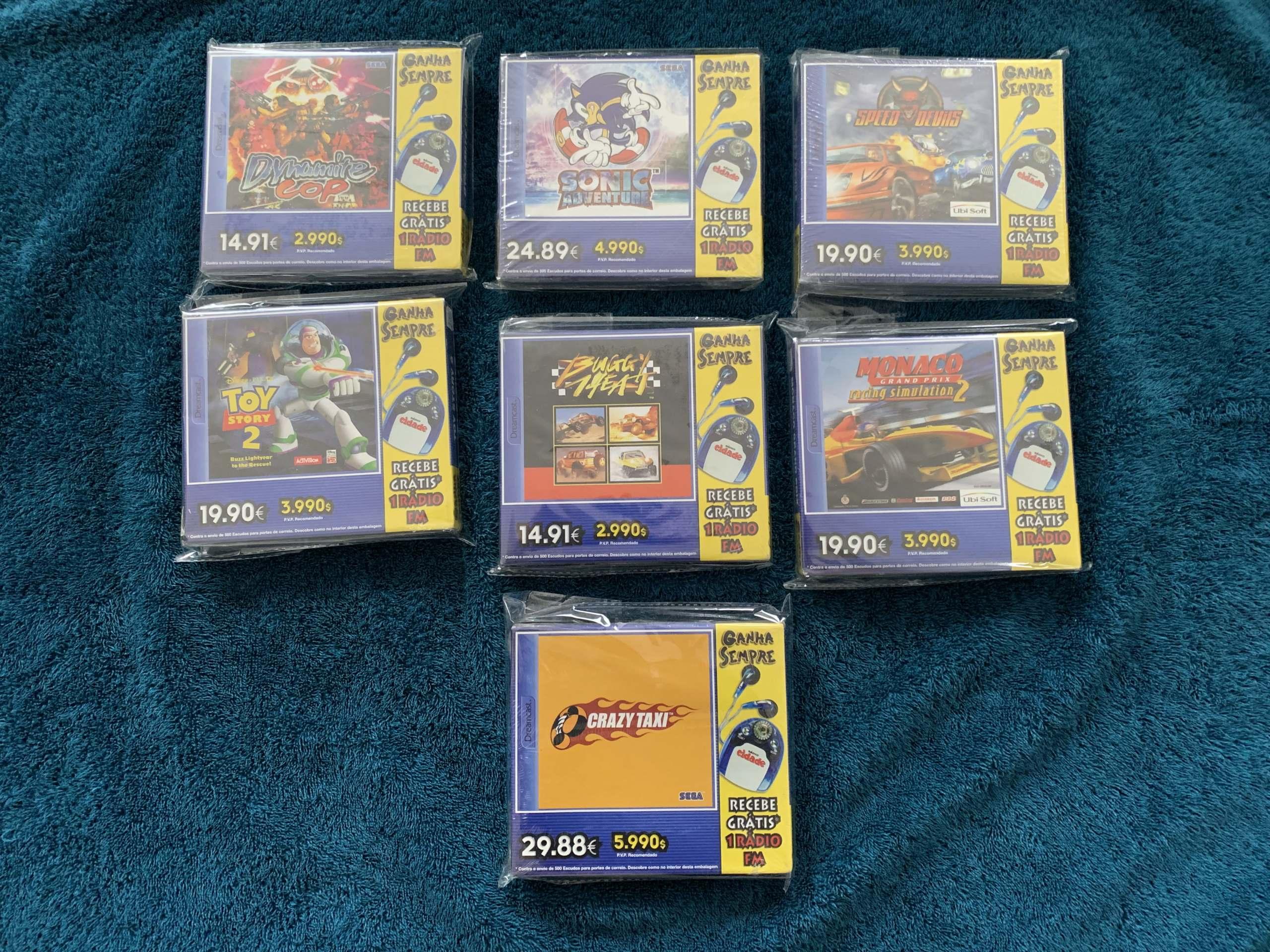 [VENDU] Fullset Jeux Dreamcast, Accessoires, Promo, Rigides... - 350 pièces - NEUF SOUS BLISTER 039_pa10