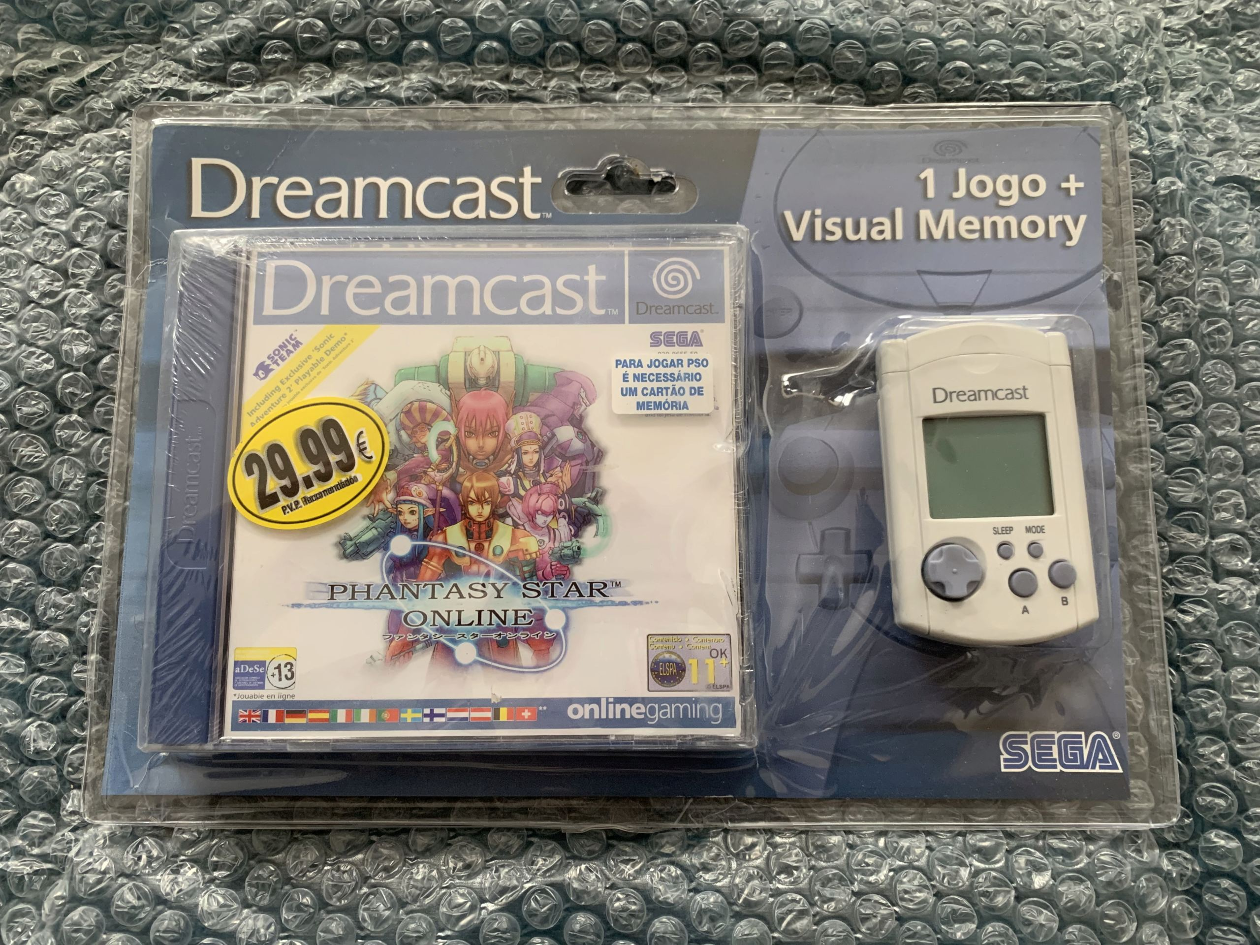 [VENDU] Fullset Jeux Dreamcast, Accessoires, Promo, Rigides... - 350 pièces - NEUF SOUS BLISTER 040_pa10