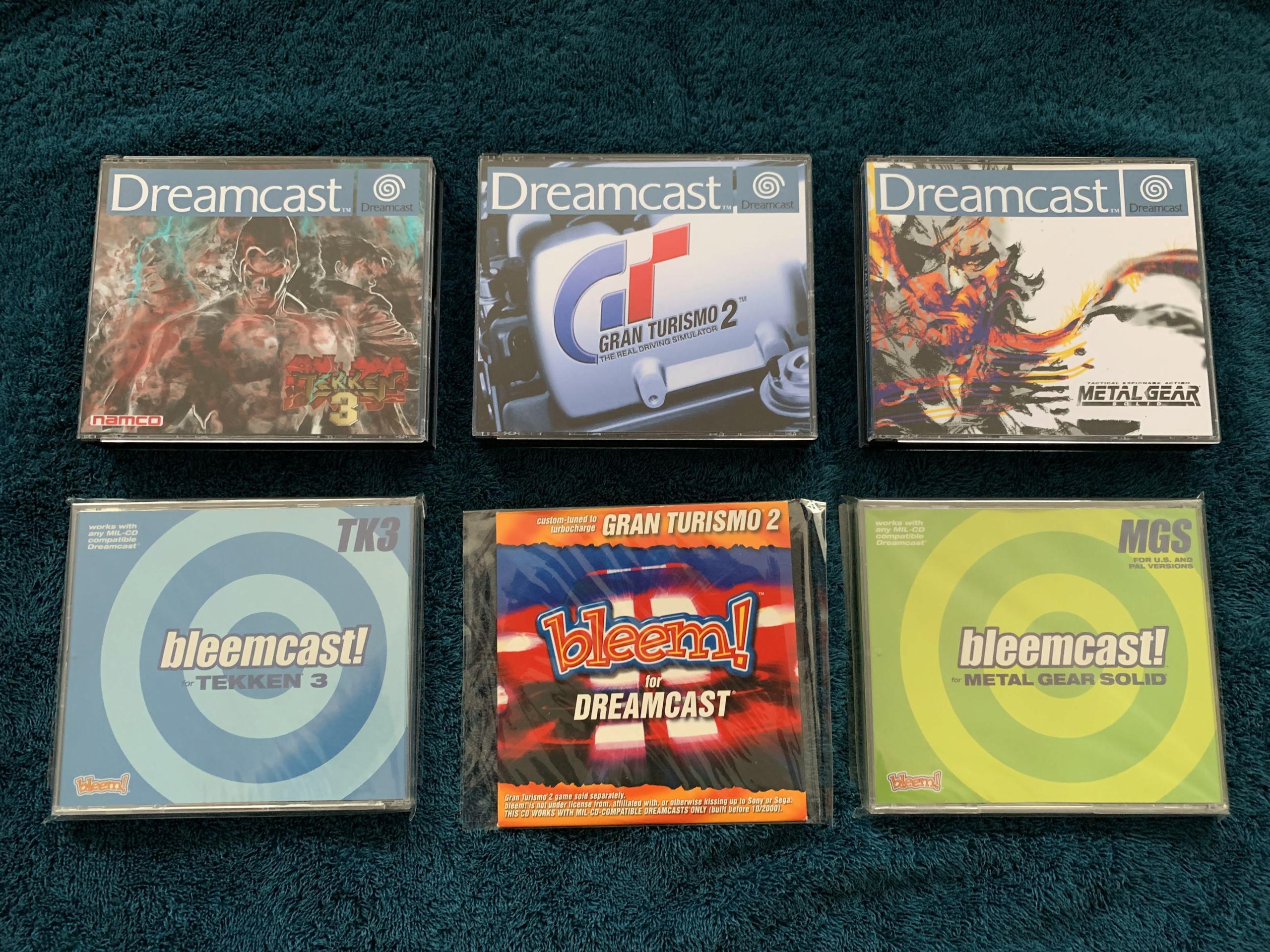[VENDU] Fullset Jeux Dreamcast, Accessoires, Promo, Rigides... - 350 pièces - NEUF SOUS BLISTER 042_bl10
