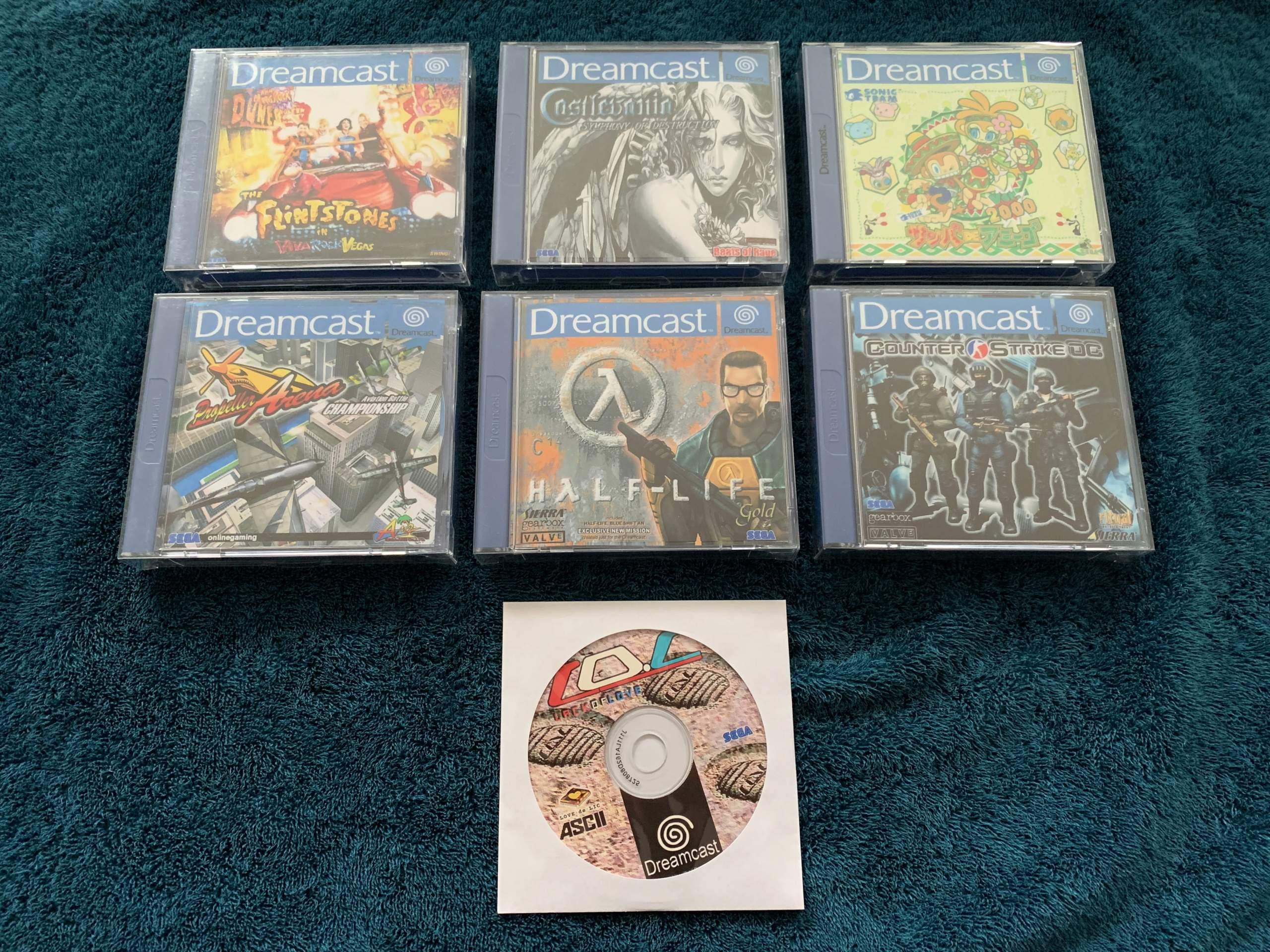 [VENDU] Fullset Jeux Dreamcast, Accessoires, Promo, Rigides... - 350 pièces - NEUF SOUS BLISTER 043_bo10