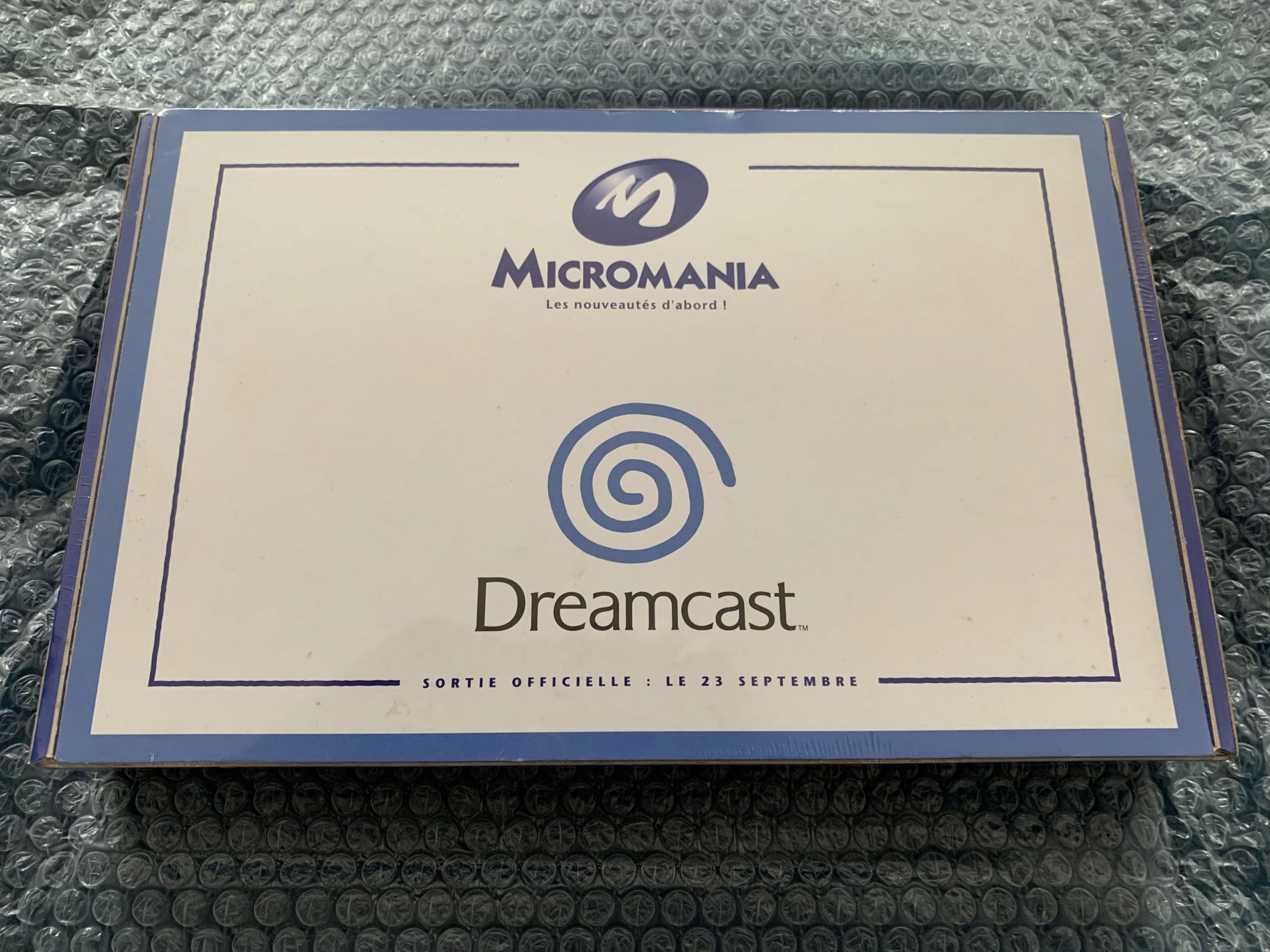 [VENDU] Fullset Jeux Dreamcast, Accessoires, Promo, Rigides... - 350 pièces - NEUF SOUS BLISTER 046_ki10