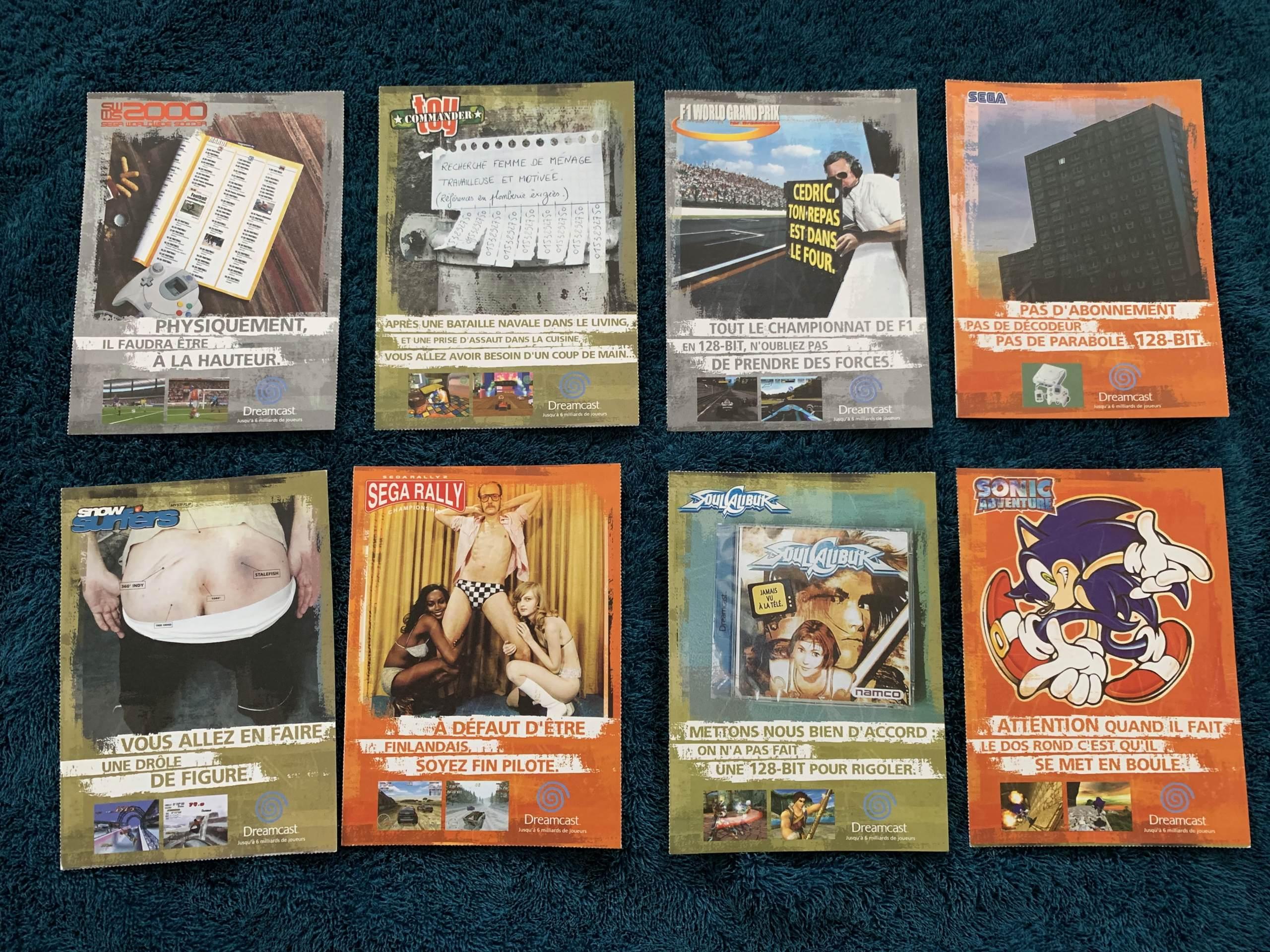 [VENDU] Fullset Jeux Dreamcast, Accessoires, Promo, Rigides... - 350 pièces - NEUF SOUS BLISTER 048_ca10