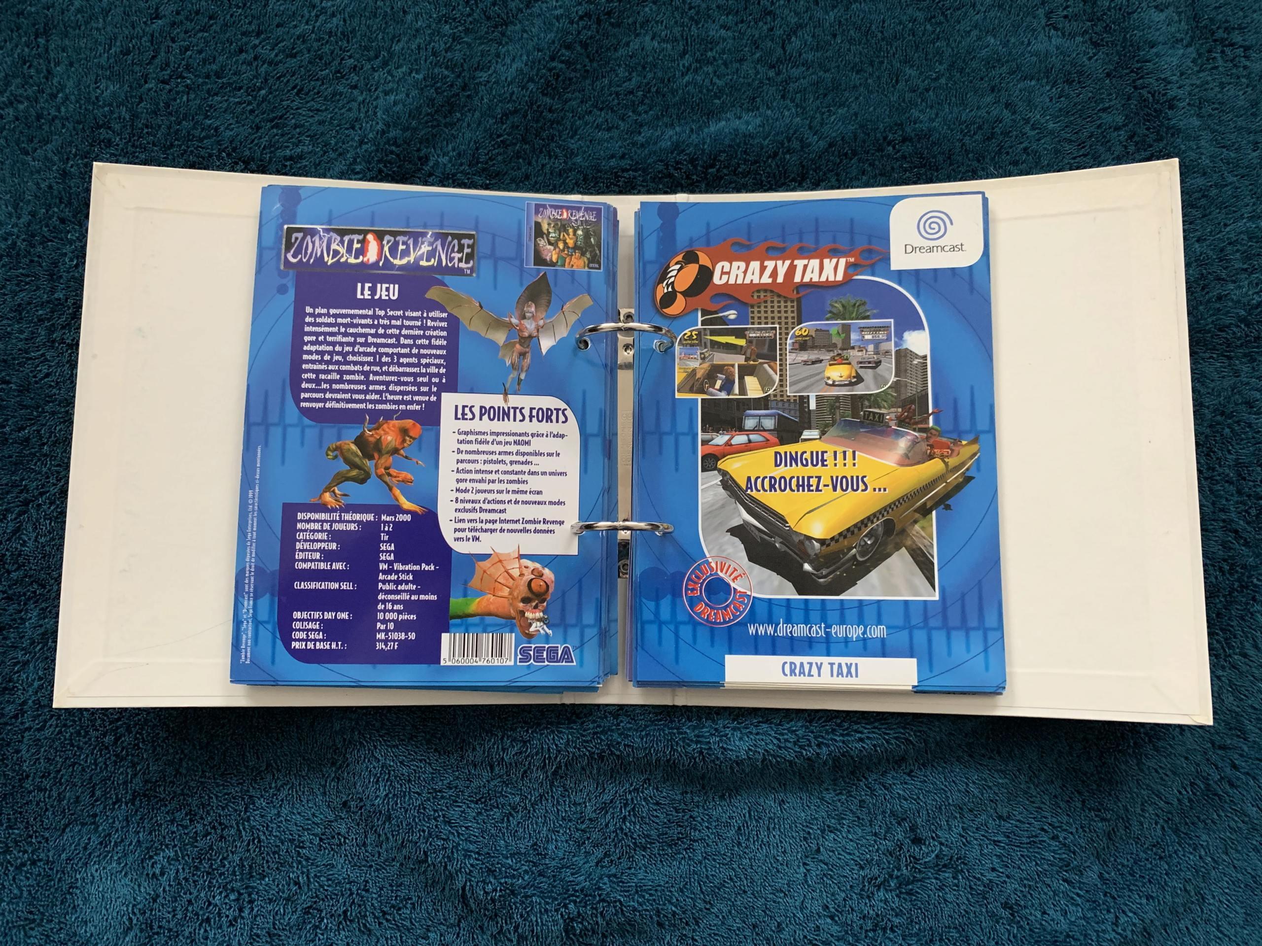 [VENDU] Fullset Jeux Dreamcast, Accessoires, Promo, Rigides... - 350 pièces - NEUF SOUS BLISTER 052_cl10