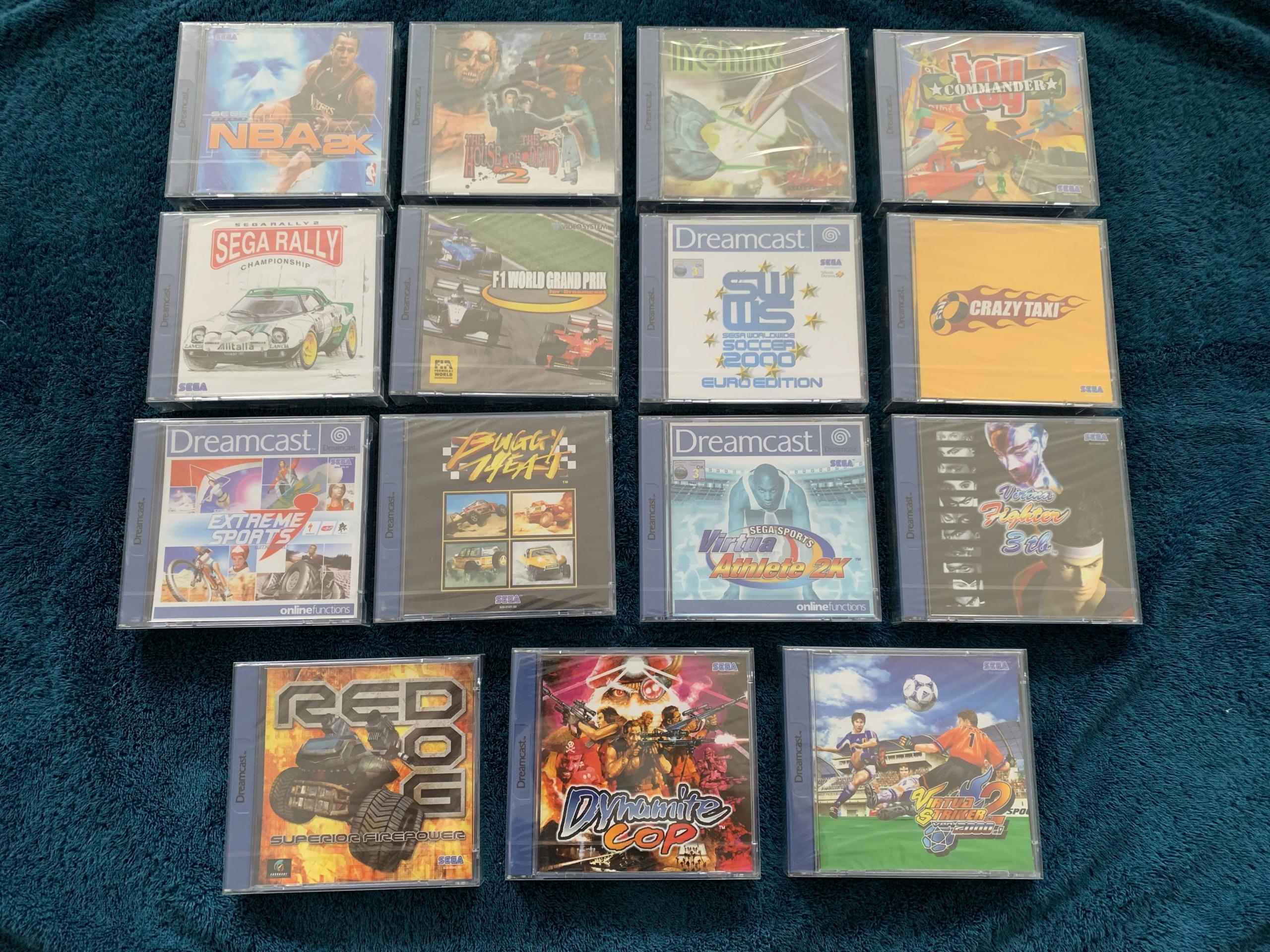 [VENDU] Fullset Jeux Dreamcast, Accessoires, Promo, Rigides... - 350 pièces - NEUF SOUS BLISTER 053_mo10