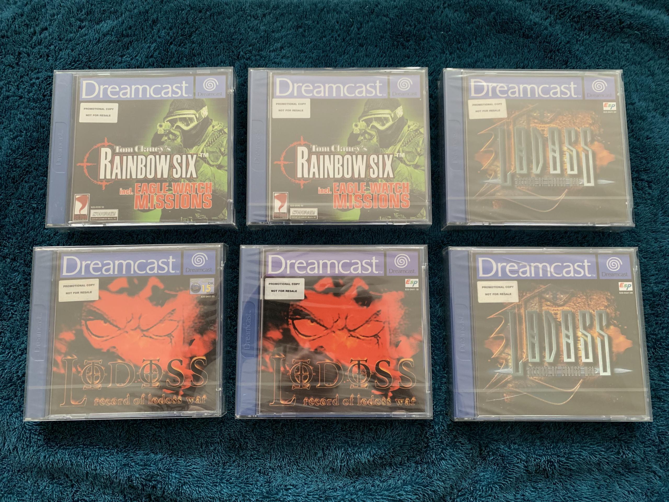 [VENDU] Fullset Jeux Dreamcast, Accessoires, Promo, Rigides... - 350 pièces - NEUF SOUS BLISTER 056_je10
