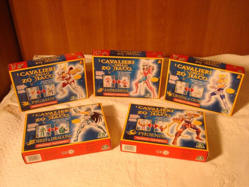 collezione 5 cavalieri dello zodiaco nuovi Dsc07812